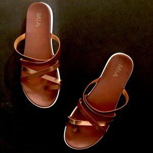 MIA Strappy Slip-on Sandals